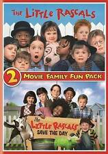 THE LITTLE RASCALS 2-MOVIE FAMILY FUN PACK New DVD Little Rascals + Save the Day