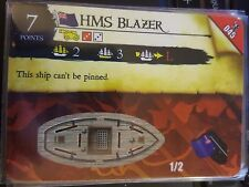 Wizkids Pirates of the Caribbean #045 HMS Blazer Pocketmodel CSG