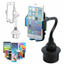 Universal Gooseneck Cup Holder Cradle Adjustable Car Mount For Cell Phone iPhone