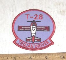 US Air Force T-28 Trojan Driver Embroidered Patch