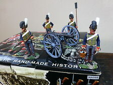 KING & COUNTRY THE AGE OF NAPOLEON NA098 ROYAL HORSE ARTILLERY GUN SET MIB