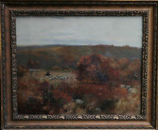 DAVID FOULTON RWS 1848-1930 SCOTTISH IMPRESSIONIST LANDSCAPE OIL PAINTING ART