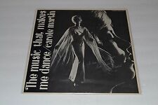 Carole Martin~The Music That Makes Me Dance~AUTOGRAPHED~FAST SHIPPING