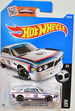 HOT WHEELS 2016 BMW '73 BMW 3.0 CSL RACE CAR #5/5 WHITE