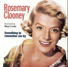 Something To Remember Me By; Rosemary Clooney 1997 CD, Bing Crosby, Jasmine Musi