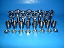 "4-Link 5/8"" x 1/2"" Bore, Chromoly Rod End Kit, Heim Joints(Bung 1-1/4 x.120).625"