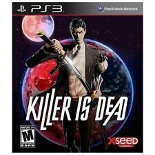 Killer Is Dead USED SEALED (Sony PlayStation 3, 2013)