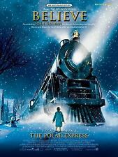 Believe (from the Polar Express) : Big Note Piano, Sheet by Josh Groban...
