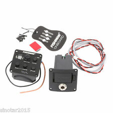 Fishman Pickup System Onboard Preamps for Acoustic Guitar EQ Preamp Isys+
