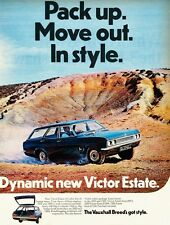 VAUXHALL VICTOR FD ESTATE 1968 LAUNCH ADVERTISEMENT 03.68 (UK)