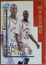 Kevin Garnett  1995 Signature Rookies Draft Day Draft Gems Rookie Promo Sample