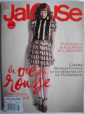 Rare KAREN ELSON  July-August 2010 Jalouse JANELLE MONAE  ROMAIN GAVRAS