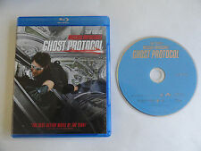 MISSION IMPOSSIBLE GHOST PROTOCOL (Blu-ray Disc, 2010) FORMER RENTAL EXCELLENT
