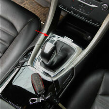 Chrome Inner Console Gear Shilft Panel Cover Trim For Ford Fusion Mondeo 13-2015