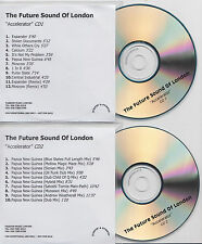 THE FUTURE SOUND OF LONDON Accelerator 2001 UK promo test 2-CD Andrew Weatherall