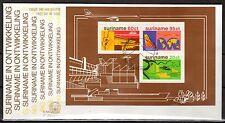 Suriname - 1978 Development- Mi. Bl. 21 clean FDC