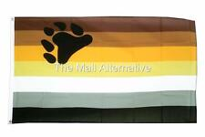 Gay Pride, Bear Pride, Flag, 3'X5',polyester, w/ two gommets, USA Seller