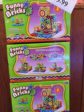 FUNNY BRICKS MOVING GEAR EDUCATIONAL BUILDING BLOCK TOY SET 81PCS AGE 3 AND UP