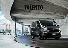 Fiat  Talento 09 / 2016 catalogue brochure no Renault Trafic 32 p.