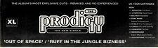 14/11/92PGN19 PRODIGY ; OUT OF SPACE SINGLE ADVERT 3X11""