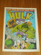 HULK #43 MARVEL BRITISH WEEKLY 26 DECEMBER 1979 BLACK KNIGHT