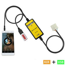 auto USB Aux-in Adattatore MP3 Autoradio Interfaccia per Mazda 3/5/323/MX5/MPV