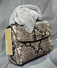 Michael Kors Ava XS Crossbody Embossed Leather 32T6SAVC1N Natural NWT