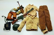 Military Uniform Weapons Accessories for 1/6 Scale Action Figure GI Joe Lot #398