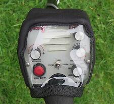 PRO-TECTORS-TESORO U-MAX CONTROL BOX COVER -BLACK NEOPRENE-METAL DETECTOR