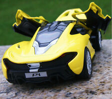 1/32 Yellow McLaren P1 Sports Vehicle Alloy Diecast Car Model w/light&sound Toy