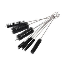 Nylon Stainless Steel Cleaners Cleaning Brushes for Tobacco Pipe Airbrush X10 MW