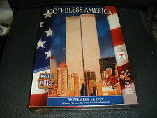 NIB God Bless America World Trade Center Remembranc 9/11 550 piece puzzle Sealed