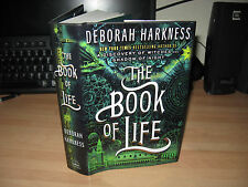Deborah Harkness - The Book Of Life Signed Lined & Dated US 1st HB All Souls 3