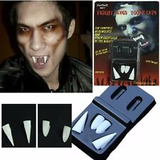 VAMPIRE FANGS TOOTH CAPS TEETH PROPS EVIL HALLOWEEN PARTY HORROR MOVIE COSTUME