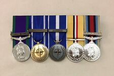 GSM Ireland, IFOR SFOR, NATO Kosovo, Iraq, Afghanistan, Full Size Mounted Medals