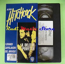 VHS film IL DELITTO PERFETTO i grandi capolavori Alfred Hitchcock (F75*) no dvd