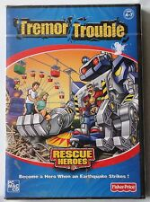 FISHER PRICE RESCUE HEROES TREMOR TROUBLE PC CD-ROM/MAC GAME brand new & sealed