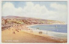 Dorset postcard - The Sands, Swanage by B F C Parr