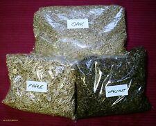 BARBECUE fumare in rovere noce acero trucioli di legno 1.5 kg/10 LITRI/32 manciate.