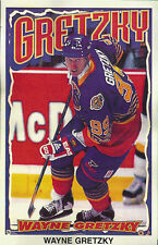 Wayne Gretzky ST LOUIS BLUES Original Norman James Poster MINI Promo 3x5