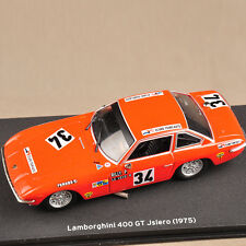 IXO 1/43 Diecast Red Lamborghini 400 GT Jslere (1975) Car Model Collection Gift