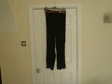 Women's Atmosphere Black trousers with belt size 10 BNWT  NCC
