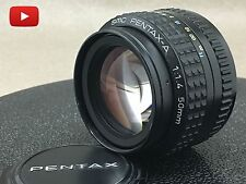 smc PENTAX-A 50mm F/1.4 Lens for Pentax K Mount Free Shipping! From Japan!