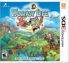 NINTENDO 3DS FANTASY LIFE BRAND NEW RPG - FREE 1st CLASS SHIPPING!