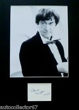 PATRICK TROUGHTON signed autograph PHOTO DISPLAY Doctor Who Dr Who