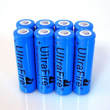 10x5000mAh Lithium Long Life 3.7V Li-ion 18650 Rechargeable  Battery For  Torch