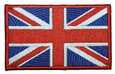 Union Jack British England Flag Embroidered Patch Badge 10cm Wide Iron or Sew on
