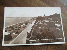 """VINTAGE RP  POSTCARD, """"GREENHILL GARDENS, WEYMOUTH """"."""