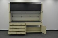 Labconco  Laboratory Fume Hood 8' with Epoxy Top and Base Cabs - (H411)