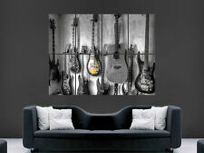 MUSIC GUITAR WALL POSTER ART CLASSIC WALL LARGE IMAGE GIANT